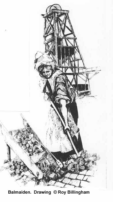 Drawing of Balmaiden by Roy BILLINGHAM in