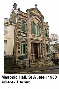 Masonic Hall St Austell