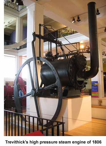 Trevithick's High Pressure Steam Engine of 1806